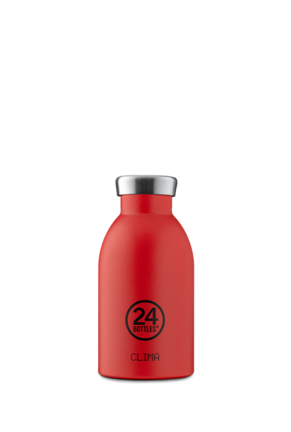 24 BOTTLES - Bottle Thermos Clima Rouge Intense 33cl