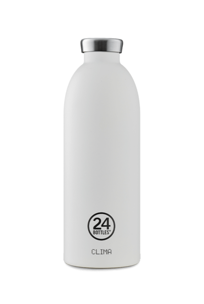 24 BOTTLES - Bouteille Thermos Clima Blanc Givre 85cl