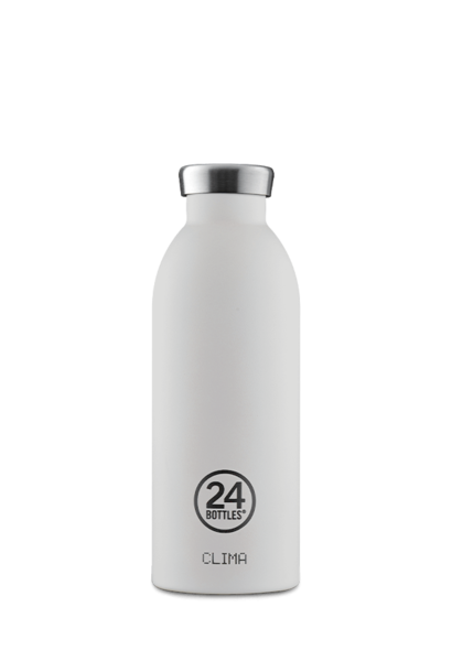 24 BOTTLES - Bouteille Thermos Clima Blanc Givre 50cl