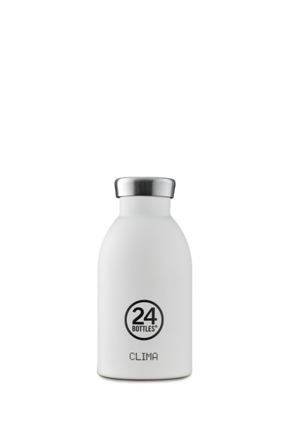 24 BOTTLES - Bouteille Thermos Clima Blanc Givre 33cl