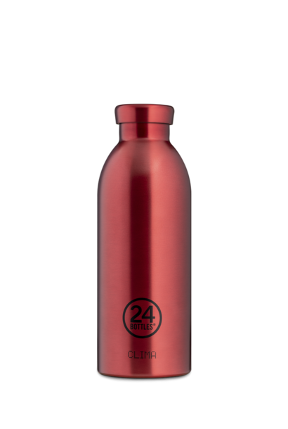 24 BOTTLES - Bouteille Thermos Clima Chianti Red 50cl