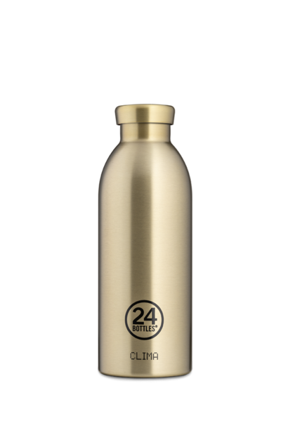 24 BOTTLES - Bouteille Thermos Clima Prosecco Gold 50cl