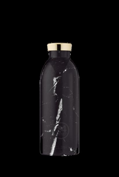 24 BOTTLES - Bouteille Thermos Clima Marbre Noir 50cl