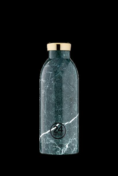 24 BOTTLES - Bottle Thermos Clima Marbre Vert 50cl