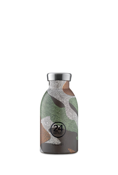 24 BOTTLES - Bouteille Thermos Clima Camouflage 33cl