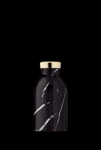 24 BOTTLES - Bottle Thermos Clima Marbre Noir 33cl