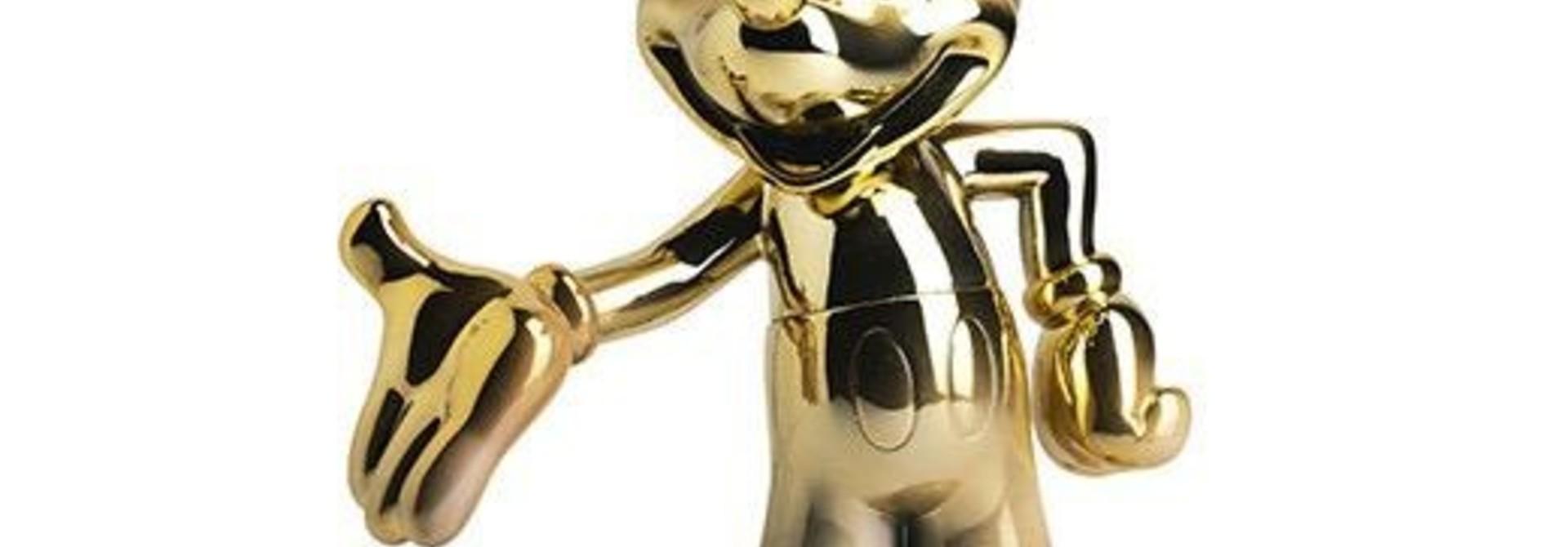 LEBLON DELIENNE - Mickey Welcome Gold & White 30cm