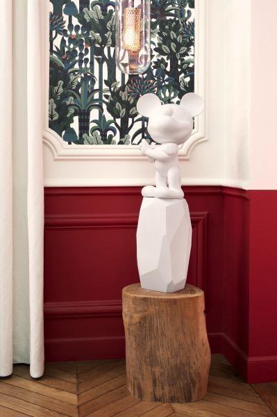 LEBLON DELIENNE - Mickey Rock Arik Levy White 18cm-5
