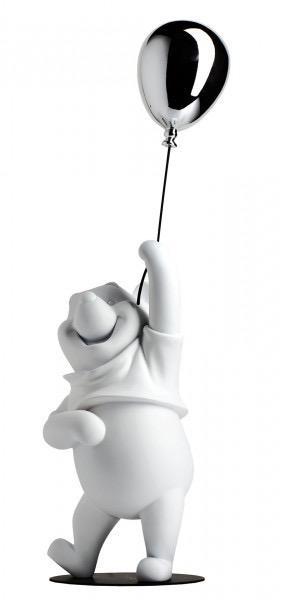 LEBLON DELIENNE - Winnie The Pooh White & Chrome 52cm-1