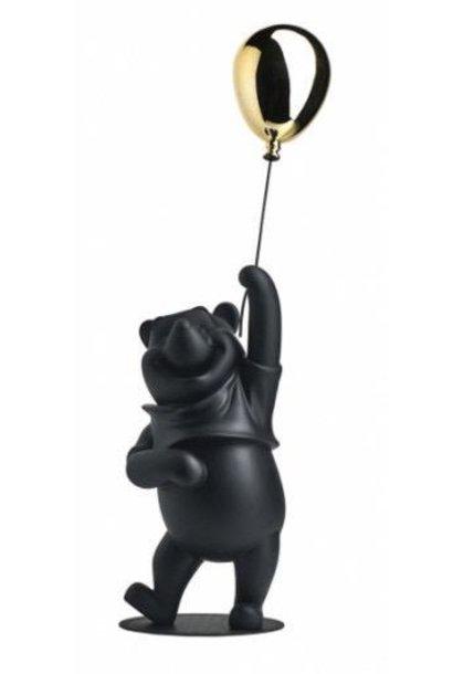 LEBLON DELIENNE - Winnie L'Ourson Noir & Chrome 52cm