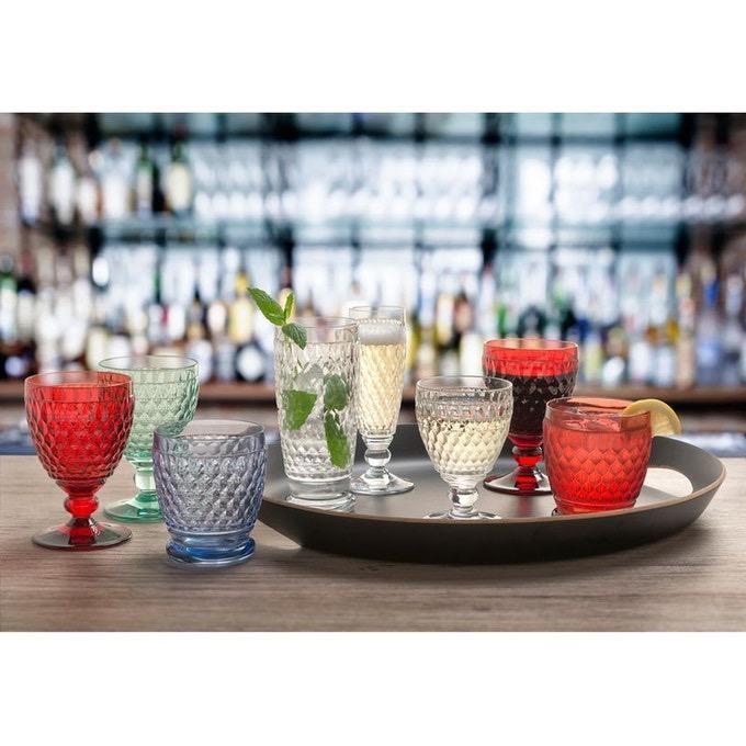 VILLEROY & BOCH - Boston Shot Glass Red-2
