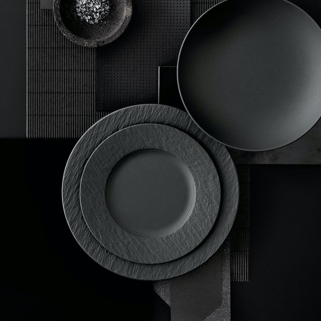 VILLEROY & BOCH - Manufacture Rock Dessert Plate 22cm-2