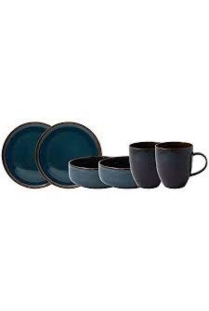 VILLEROY & BOCH - Crafted Denim Breakfast Set 6pcs