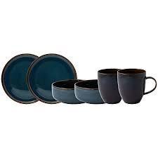 VILLEROY & BOCH - Crafted Denim Breakfast Set 6pcs-1