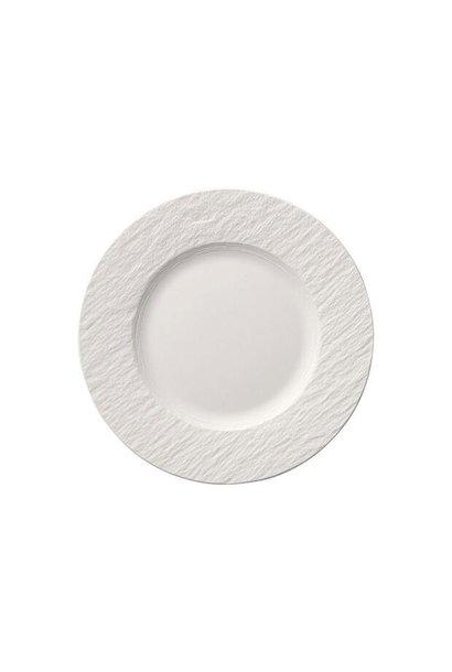 VILLEROY & BOCH - Assiette Dessert Manufacture Rock Blanc 22cm
