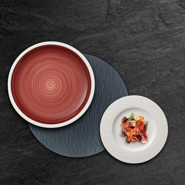 VILLEROY & BOCH - Manufacture Rock White Dessert Plate 22cm-3