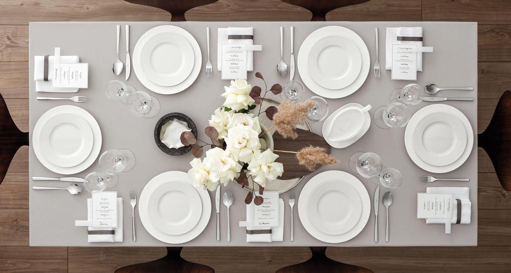 VILLEROY & BOCH - Manufacture Rock White Dessert Plate 27cm-6