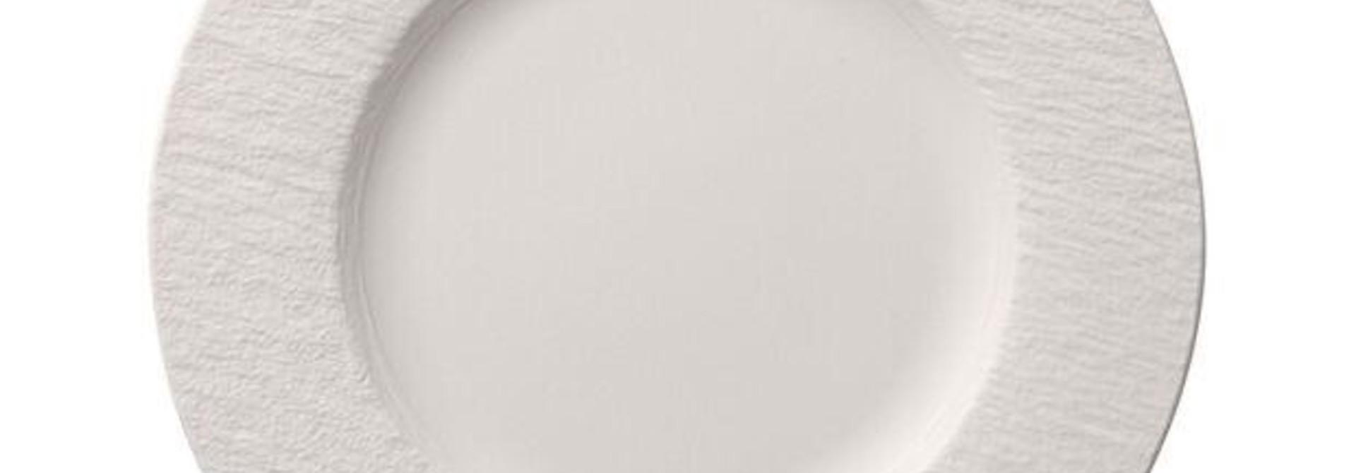 VILLEROY & BOCH - Manufacture Rock White Dessert Plate 27cm