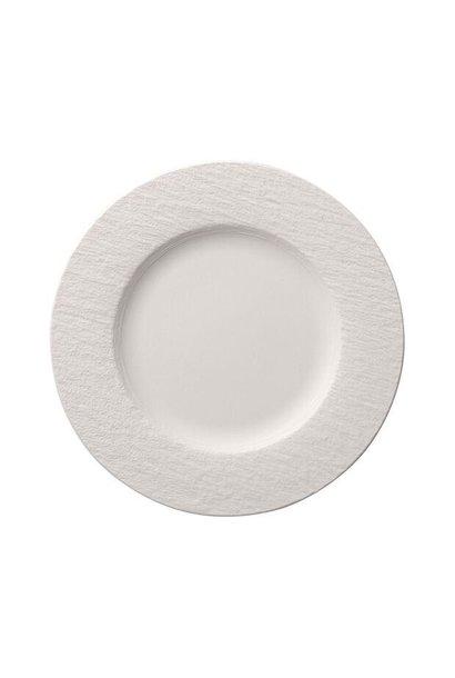 VILLEROY & BOCH - Assiette Dessert Manufacture Rock Blanc 27cm