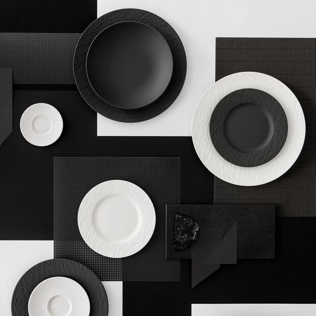 VILLEROY & BOCH - Manufacture Rock White Dessert Plate 27cm-5