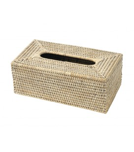 PAGAN - Boite Kleenex Rotin 25x14x10cm-1