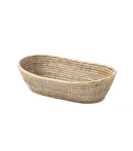PAGAN - Ceruse Rattan Bread Basket-1