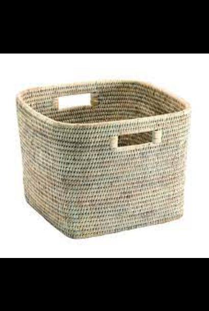 PAGAN - Ceruse Square Basket 29x29x23cm