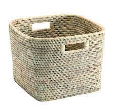 PAGAN - Ceruse Square Basket 29x29x23cm-1