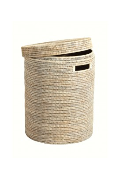 PAGAN - Ceruse Linen Basket