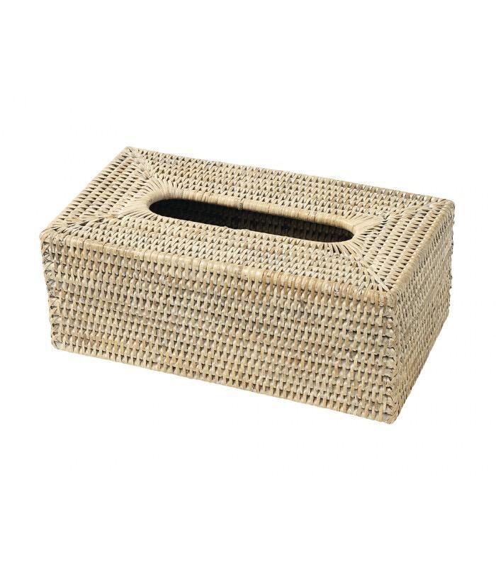 PAGAN - Box Kleenex Rattan Cosette 25x14x6,5cm-1
