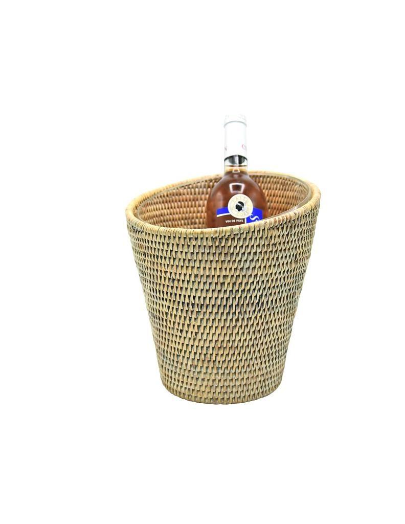 PAGAN - Rattan Champagne Bucket-1