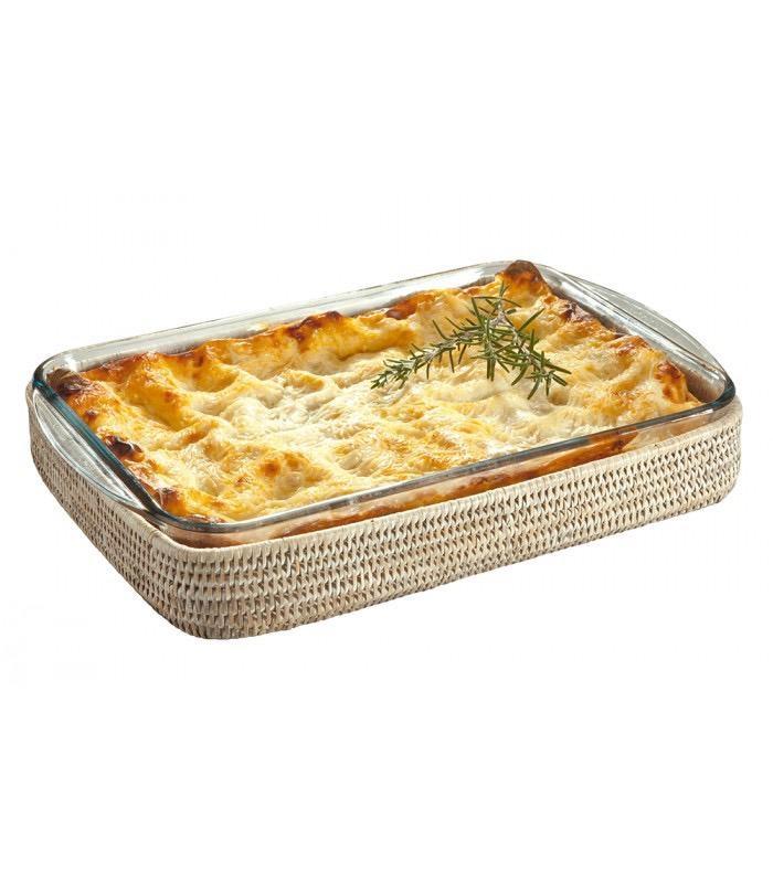 PAGAN - Ceruse Lasagna Gratin Dish 40x27cm-2