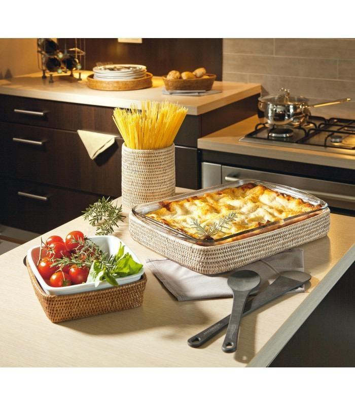 PAGAN - Ceruse Lasagna Gratin Dish 40x27cm-3