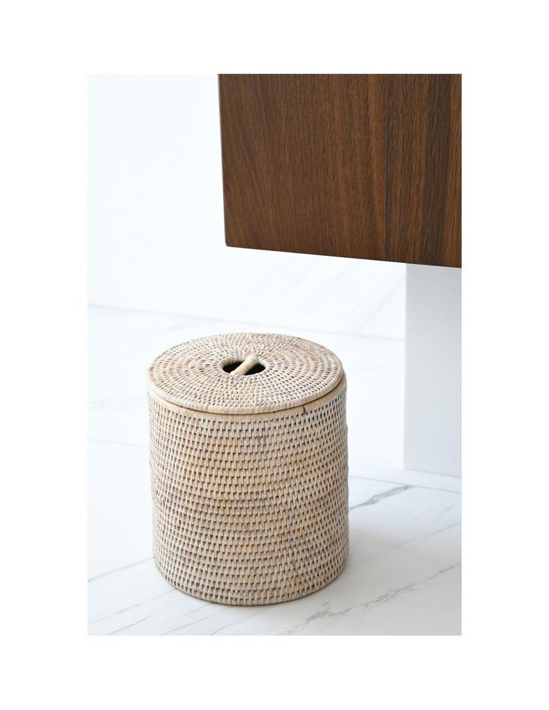 PAGAN - Ceruse Bathroom Bin 20x21cm-2