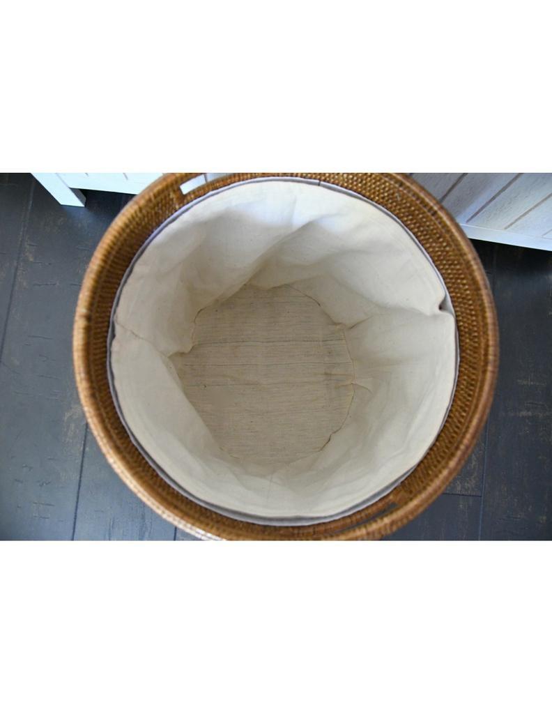 PAGAN - Ceruse Linen Basket-2