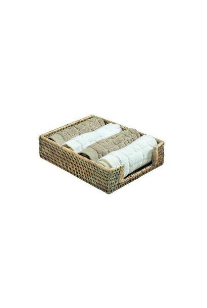 PAGAN - Ceruse Towel Rack 26x19cm
