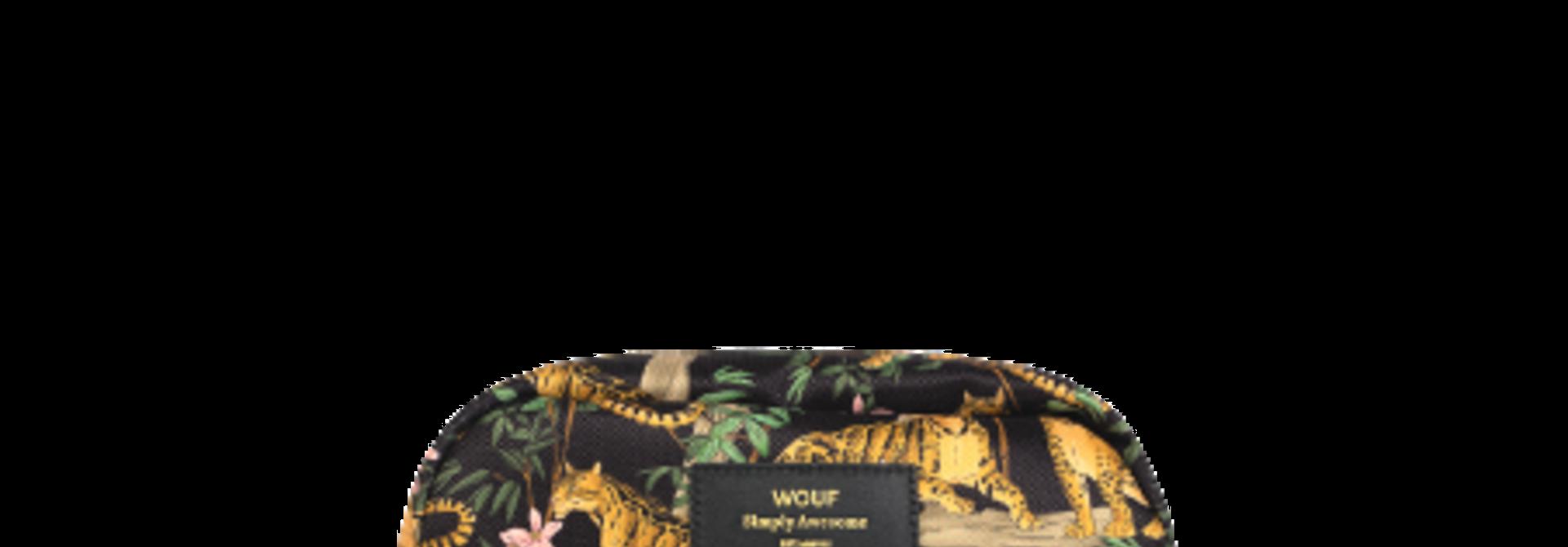 WOUF - Black Lazy Jungle Makeup Bag