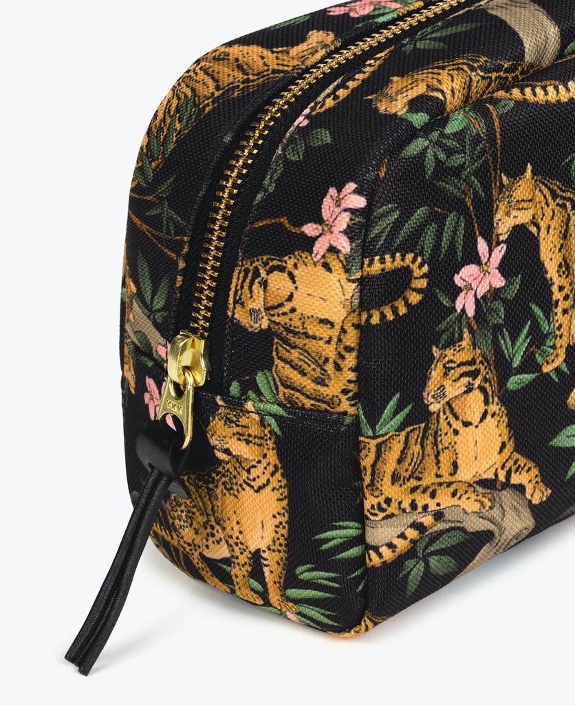 WOUF - Black Lazy Jungle Makeup Bag-3