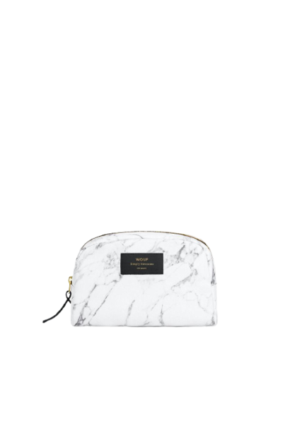 WOUF - Trousse Maquillage White Marble
