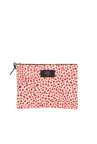 WOUF - White Hearts XL Pouch