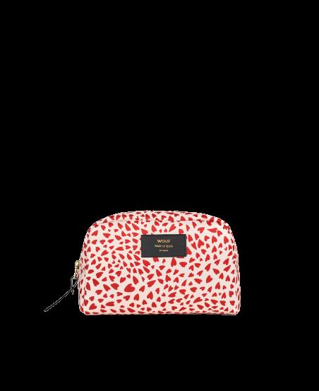 WOUF - White Hearts Makeup Bag-1