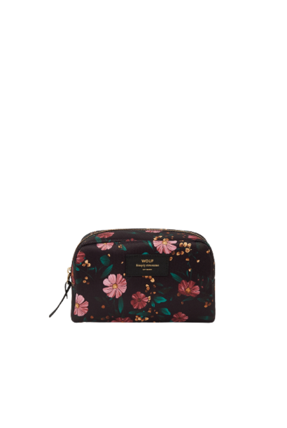 WOUF - Trousse Maquillage Black Flowers