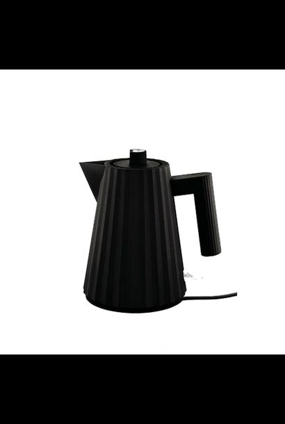 ALESSI - Black Pleated Kettle 1L