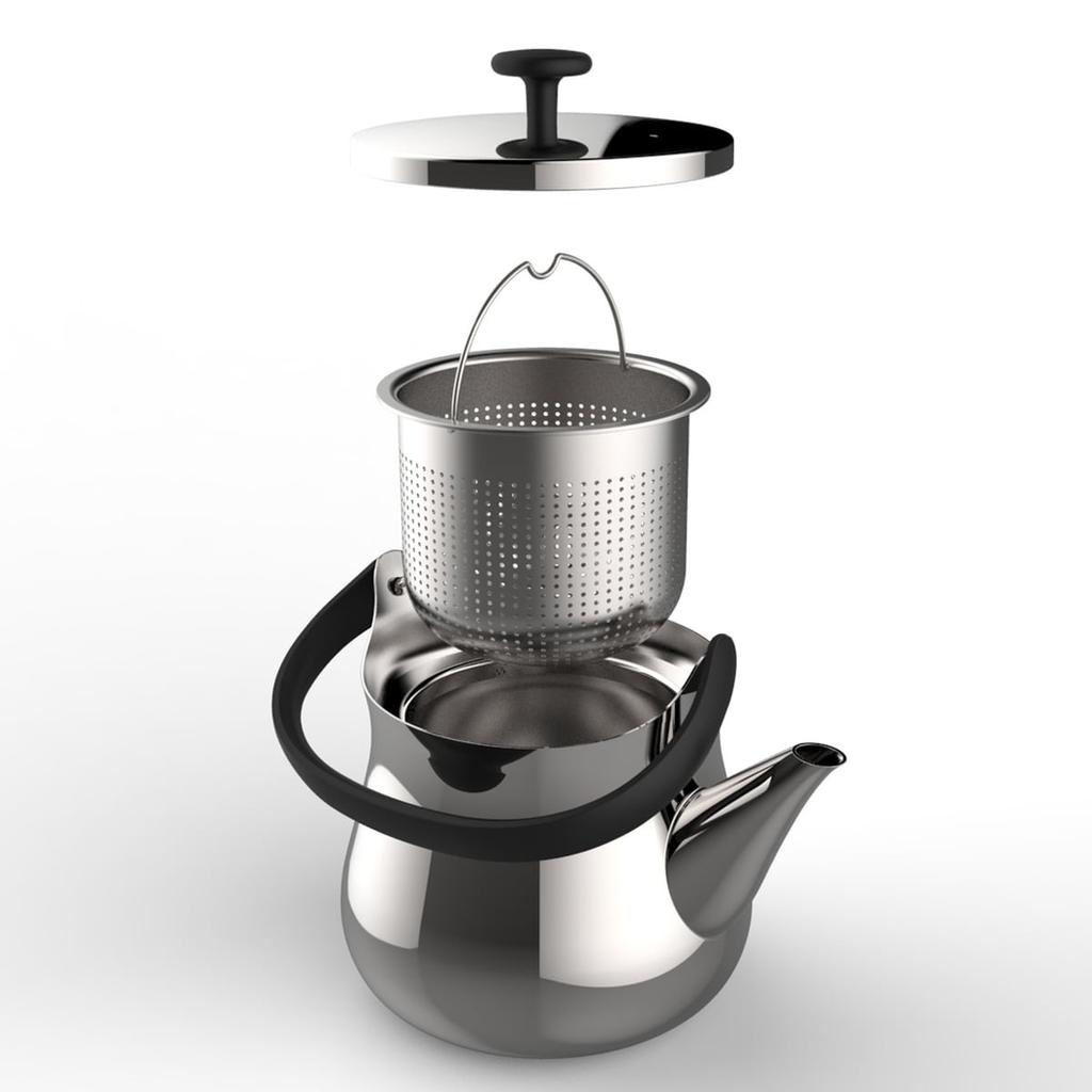 ALESSI - Chap Kettle-4