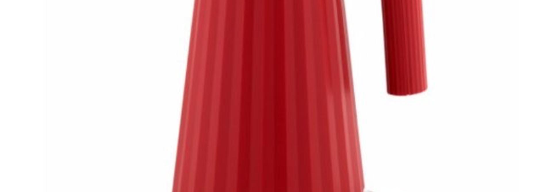 ALESSI - Plissé Red Kettle 1.7L