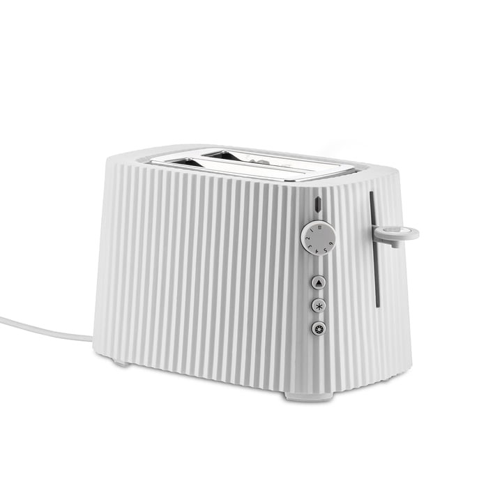 ALESSI - White Resin Pleated Toaster-1