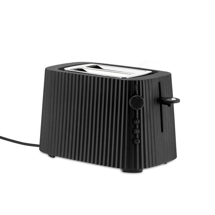 ALESSI - Black Resin Pleated Toaster-1