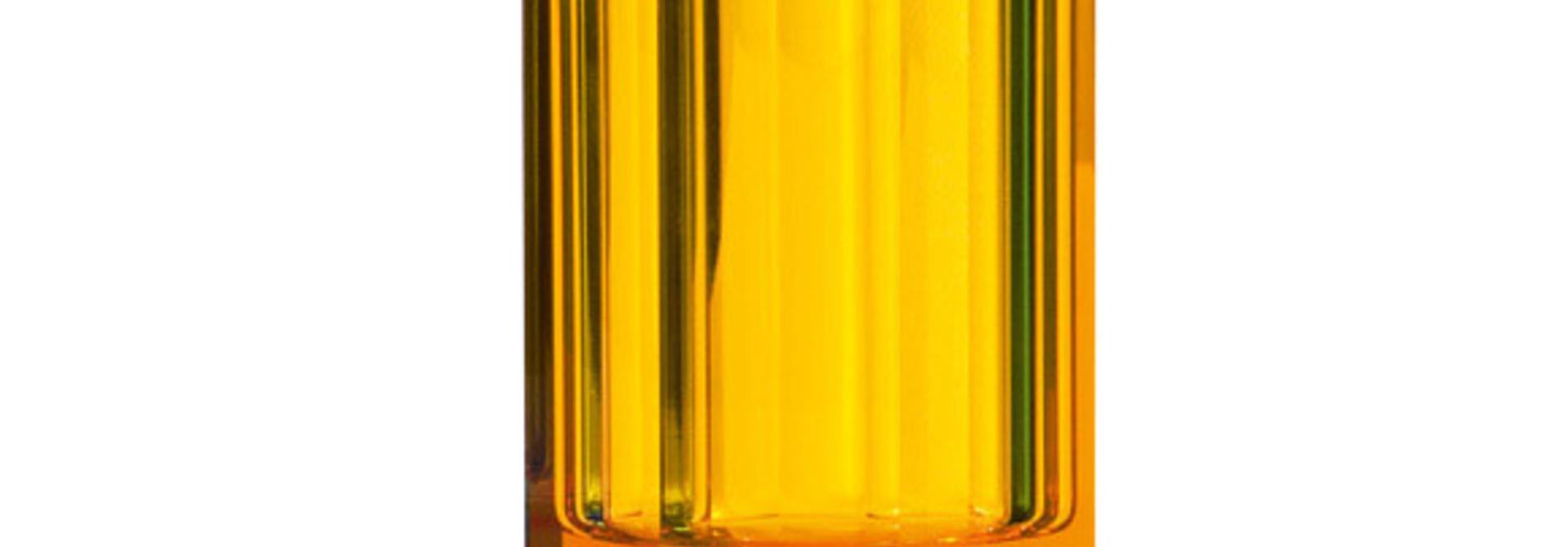 DECOR WALTHER - Amber Crystal Glass