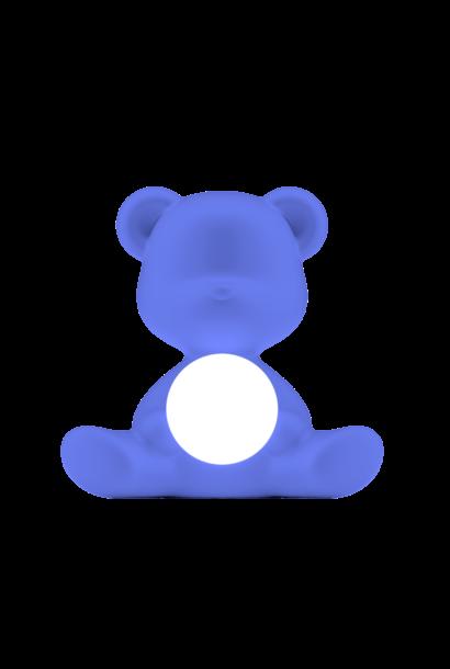 QEEBOO - Lampe Teddy Girl Bleu