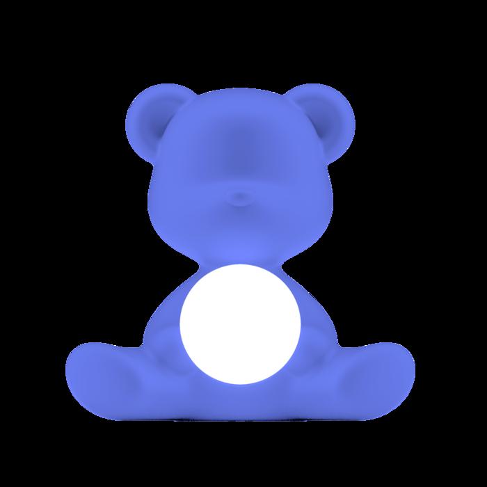 QEEBOO - Blue Teddy Girl Lamp-1
